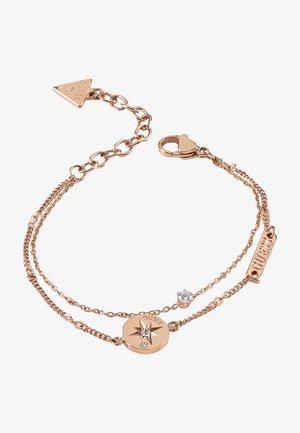 WANDERLUST - Armband - rose goldenfarbe