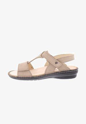 Sandals - nubuk beige
