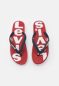 Levi's® - DELAMAR  - Pool shoes - brilliant red - 3