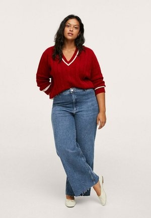 CATHERIN - Relaxed fit jeans - dunkelblau
