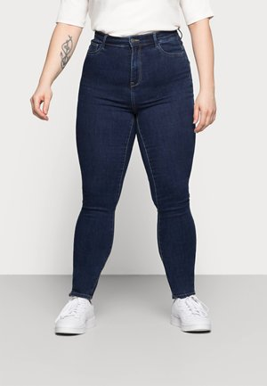 CAROP LIFE SUPER - Jeans Skinny Fit - dark blue denim