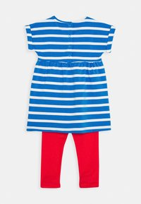 Frugi - OCEAN BABY SET - Leggings - Trousers - motosu blue - 1