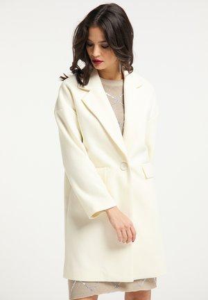 Klasyczny płaszcz - wollweiss
