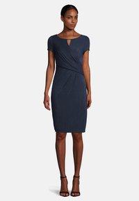 Vera Mont - Shift dress - dark blue/dark blue - 0