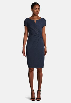 Shift dress - dark blue/dark blue