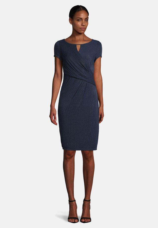 Shift dress - dark blue/dark blue