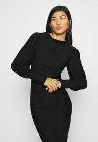 Gestuz - RIFAGZ PUFF DRESS - Day dress - black - 3