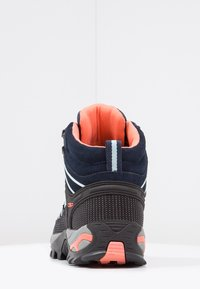 CMP - RIGEL MID TREKKING SHOE WP - Outdoorschoenen - blue/giada/peach - 4
