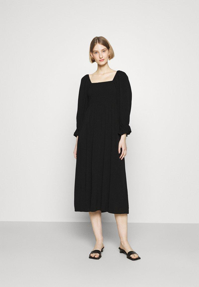 Bruuns Bazaar - LILLI SASANE DRESS - Day dress - black