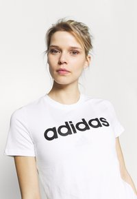 adidas Performance - Print T-shirt - white/black - 3
