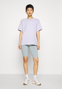 Weekday - MAURICE BIKER - Shorts - turqoise dusty light - 1