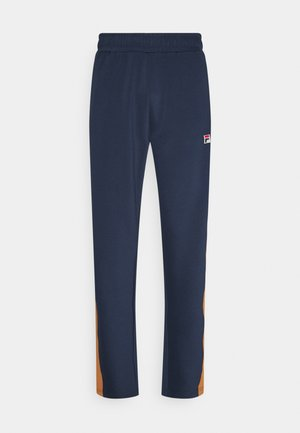 HAVERD TRACK PANTS - Tracksuit bottoms - black iris/hazel