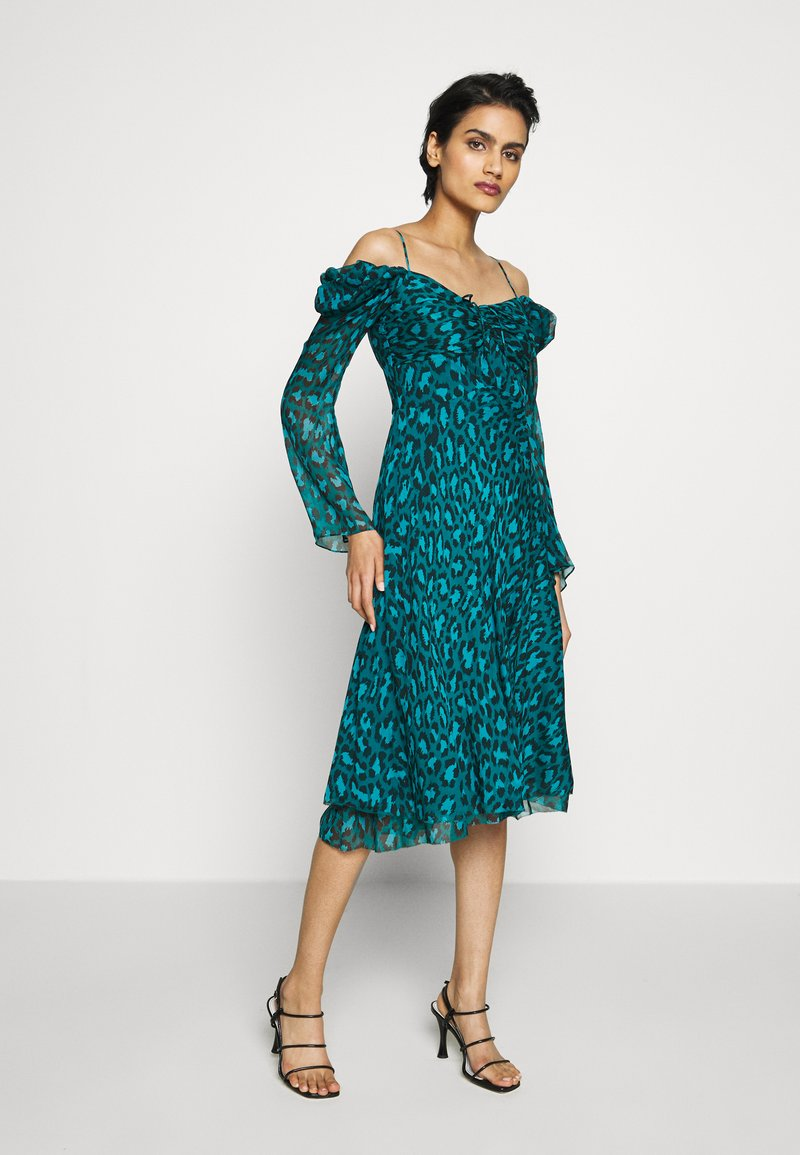 Diane von Furstenberg - LILITH - Vapaa-ajan mekko - green