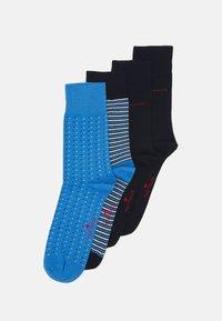 TOM TAILOR - SOCKS 4 PACK - Socks - dark blue - 0