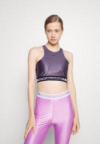 Nike Performance - TANK - Linne - dark raisin/black - 0