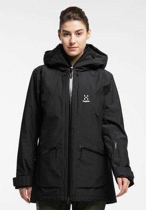 LUMI INSULATED PARKA - Snowboard jacket - true black