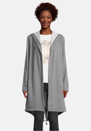 MIT KAPUZE - Classic coat - hellgrau