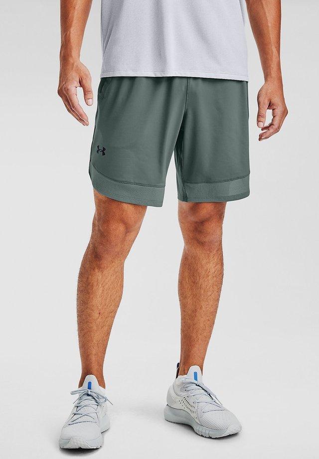 TRAIN STRETCH - Sports shorts - lichen blue