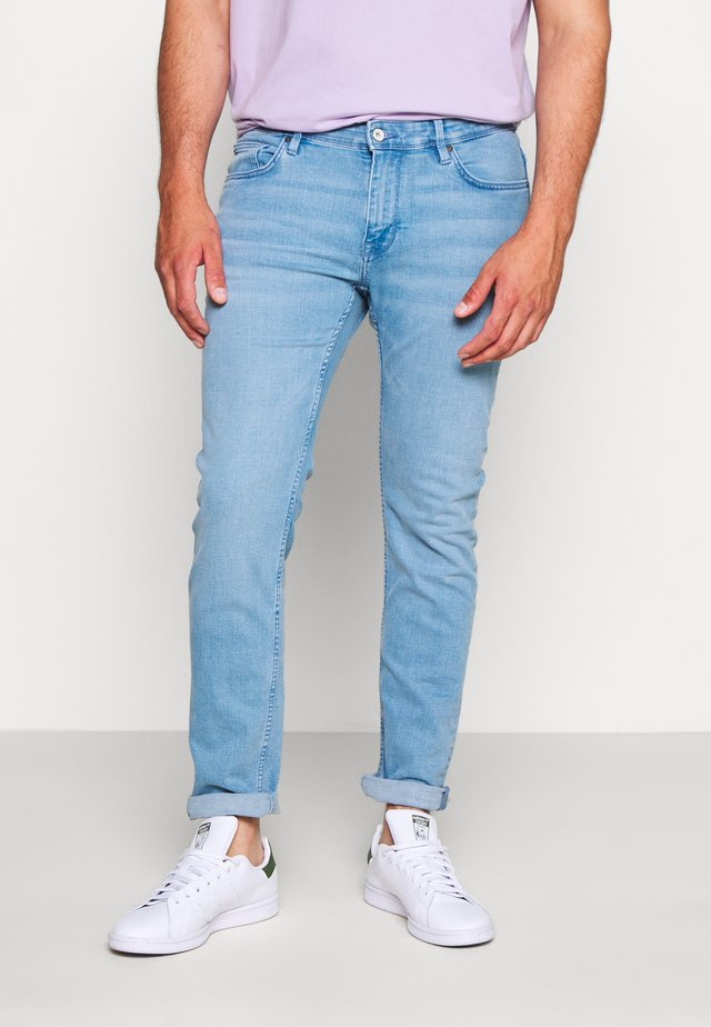 ROSLIGHT - Jeansy Slim Fit - light blue denim