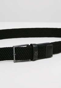 Calvin Klein - FORMAL ELASTIC BELT - Cintura - black - 4