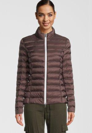 HELSINKI - Winter jacket - choco/stone