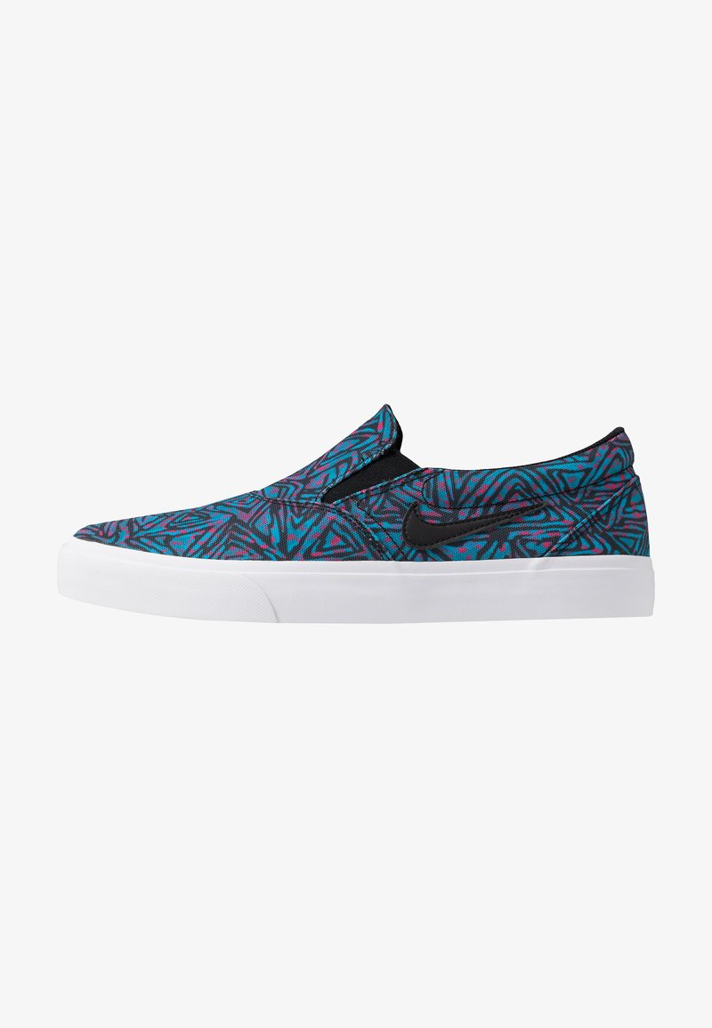 Nike SB - CHARGE PRM - Instappers - laser blue/black/white