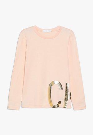 FOIL - Top sdlouhým rukávem - pink