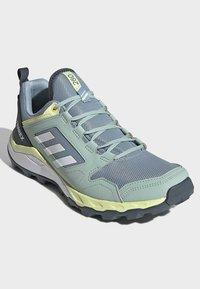 adidas Performance - TERREX AGRAVIC TR TRAIL RUNNING SHOES - Trail running shoes - blue - 3