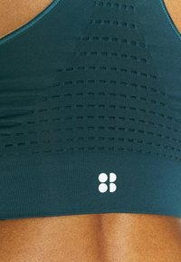Sweaty Betty - STAMINA WORKOUT BRA  - Medium support sports bra - beetle blue - 5