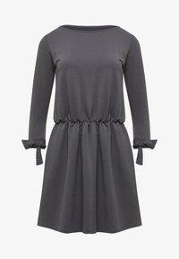 Talence - ROBE - Vestito di maglina - graphite - 4
