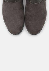 s.Oliver - Korte laarzen - dark grey - 5