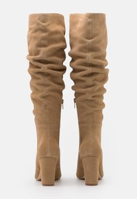 Anna Field - LEATHER - High heeled boots - beige - 3