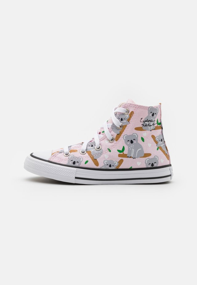CHUCK TAYLOR ALL STAR - Sneakers high - pink foam/multicolor/white