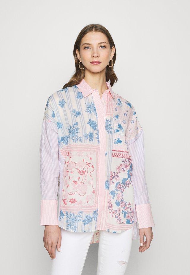 MARTINE  - Košile - lilac mix print