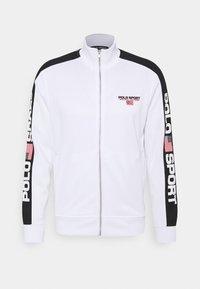 Polo Sport Ralph Lauren - LONG SLEEVE - Tröja med dragkedja - white - 0