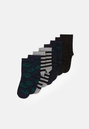 NKMDINO SOCKS 8 PACK - Ponožky - dark sapphire