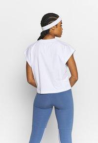 MSGM - Basic T-shirt - white - 2