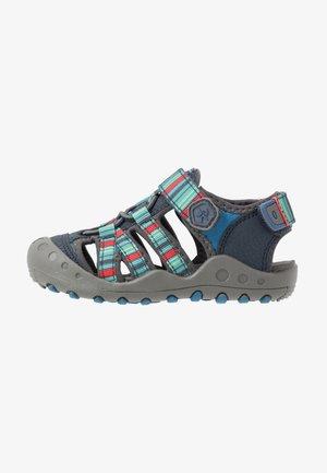 KLAUS - Walking sandals - marine