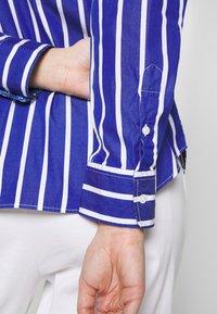 Polo Ralph Lauren - GEORGIA LONG SLEEVE SHIRT - Košile - blue/white - 5
