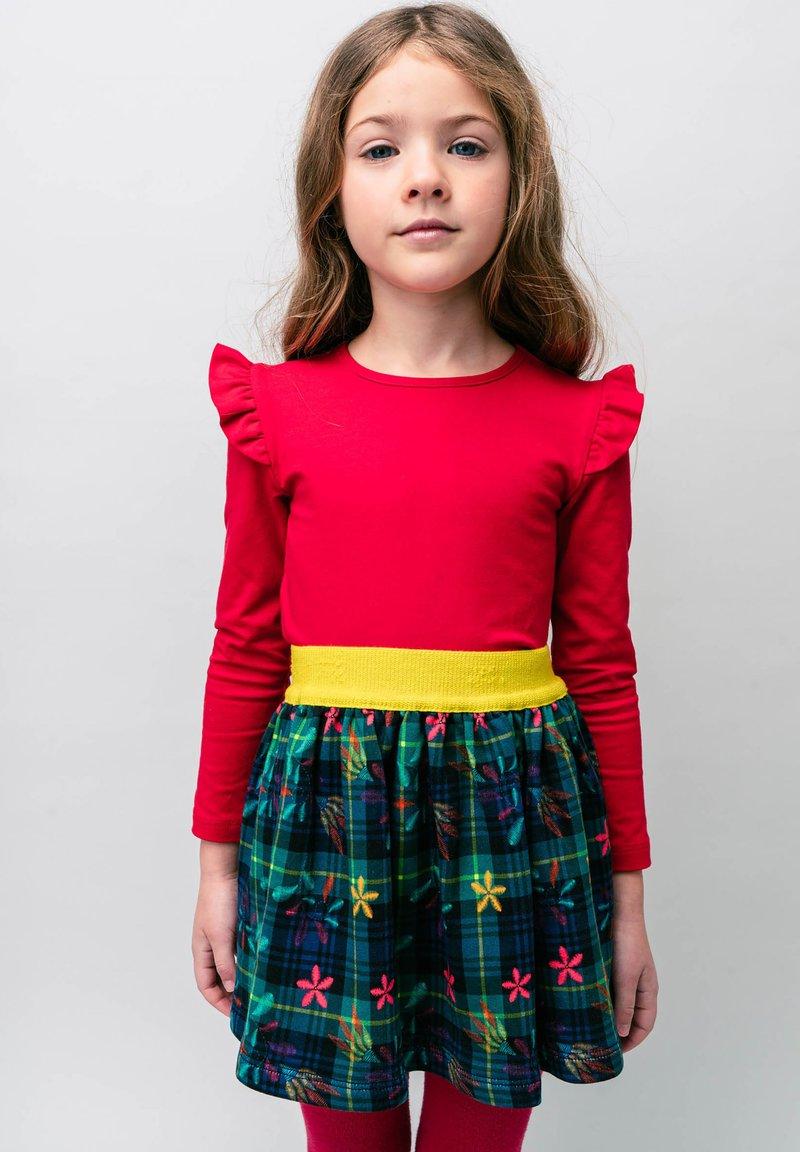 Rosalita Senoritas - MOSBY  - A-line skirt - dark green