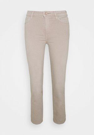 CROPPED - Slim fit jeans - beige