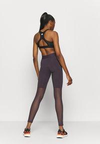 adidas Performance - GLAM - Tights - purple - 2
