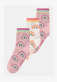 Ewers - RAINBOWS 3 PACK - Sokken - rosa/off-white - 0