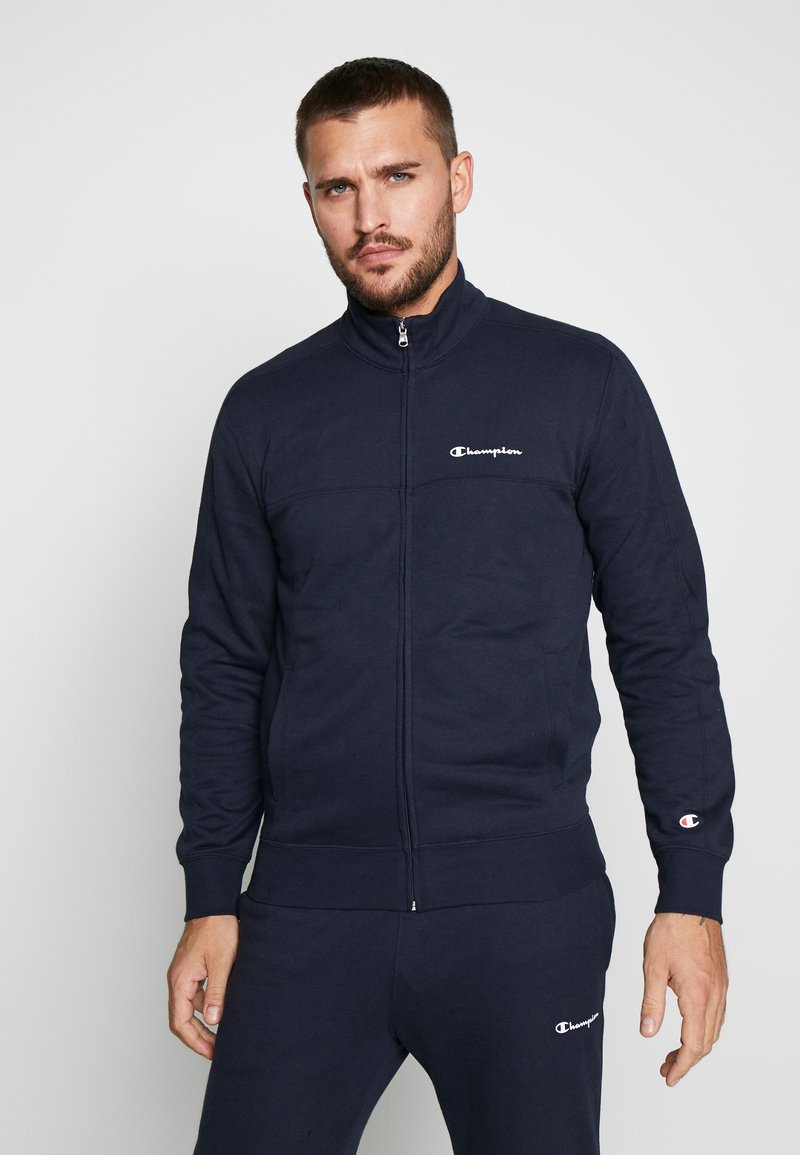 Champion - FULL ZIP SUIT - Träningsset - navy