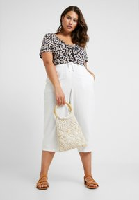 Dorothy Perkins Curve - TIE FRONT - T-shirts print - multi - 1