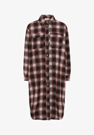 STINE - Button-down blouse - bordeaux