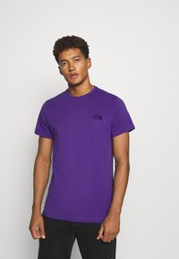 The North Face - MENS SIMPLE DOME TEE - T-shirt basic - peak purple - 0