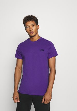 MENS SIMPLE DOME TEE - Jednoduché triko - peak purple
