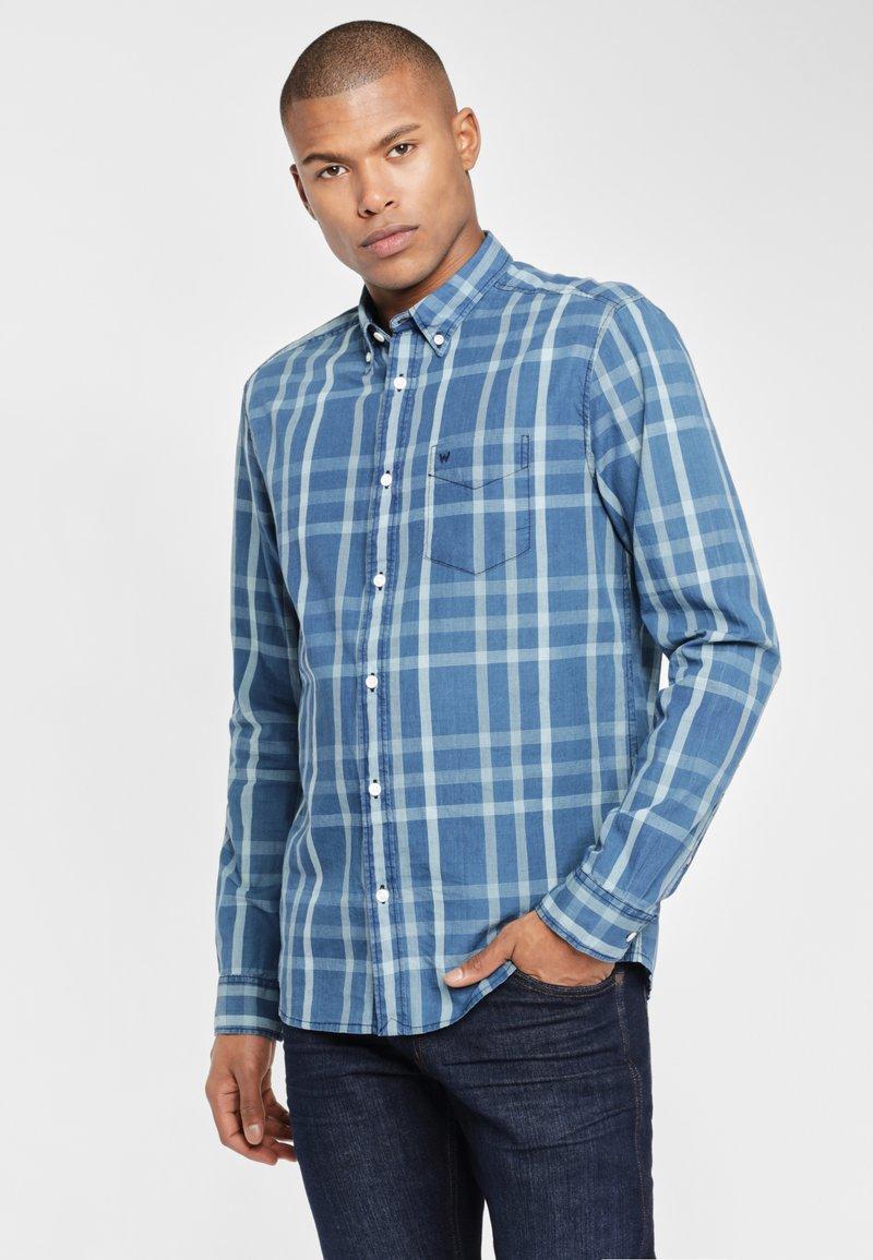 Wrangler - Overhemd - blue topaz