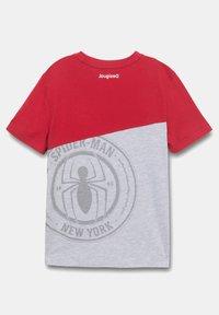 Desigual - MARVEL - Print T-shirt - red - 1
